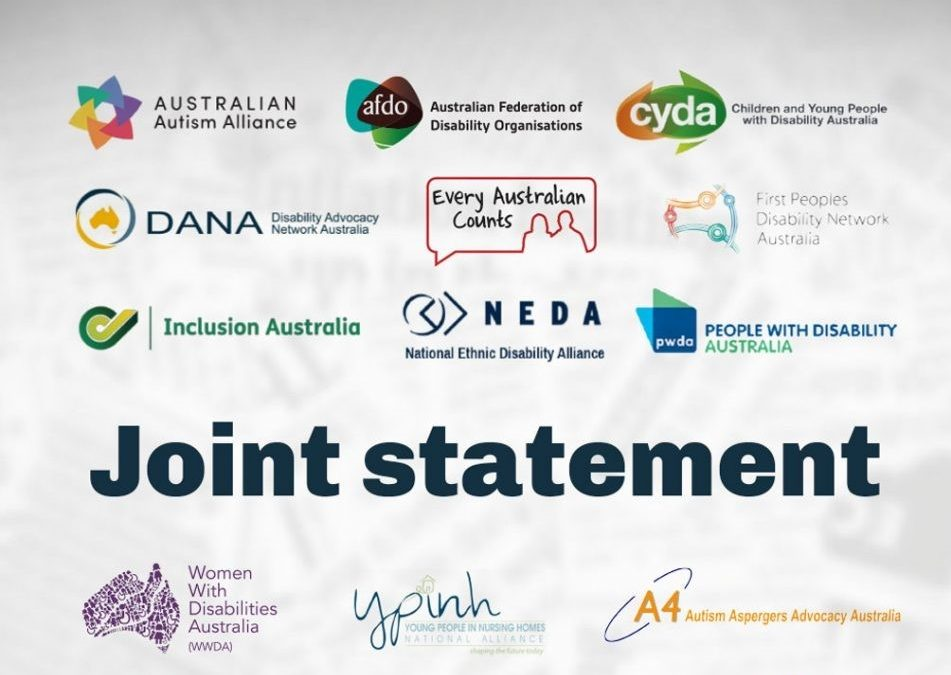 Joint statement - some of the logos of endorsing organisations