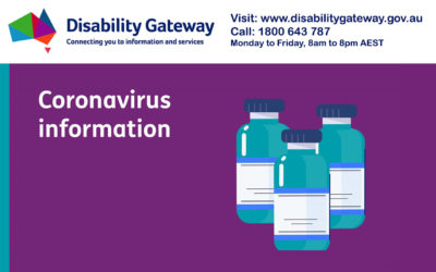 The Disability Gateway can help book vaccinations